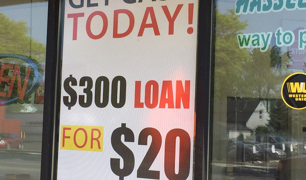 Payday Lenders Are Happier Under Trump